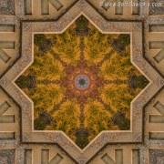 Windows to Autumn Mandala 4 by Beth Sawickie www.bethsawickie.com/windows-to-autumn-mandala-4 #mandala #kaleidoscope