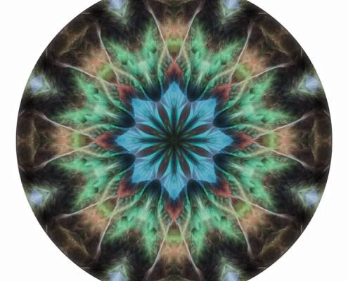 Feather Mandala 1 by Beth Sawickie