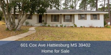 ​Homes for Sale in Hattiesburg MS - Experience ultimate comfort and convenience in this beautifully-renovated Hattiesburg MS home for sale.