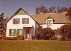 Green Gables House, PEI August 1982