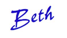 Beth in script for blog