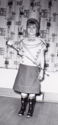 Beth as Majorette