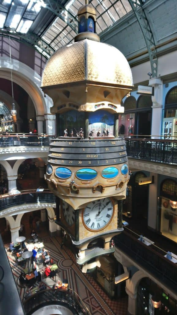 Royal Clock in QVB