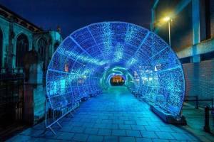 Light Tunnel in Norwich