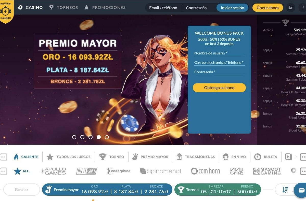 power-casino-homepage