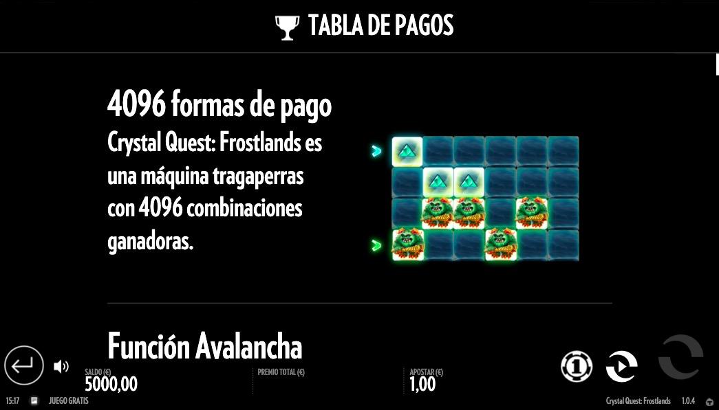 tragamonedas-crystal-quest-pagos