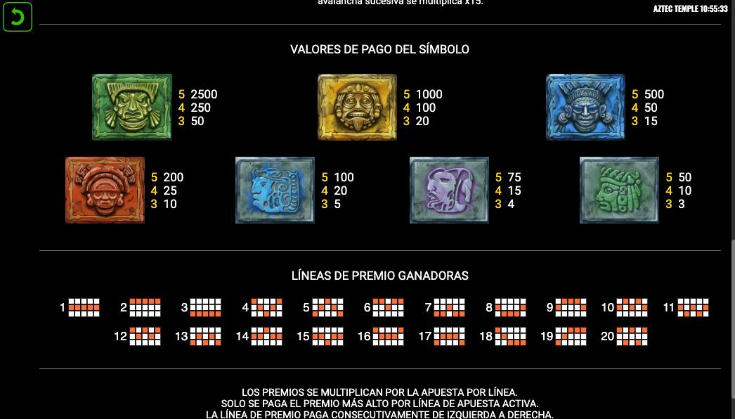 premios-en-slot-templo-azteca