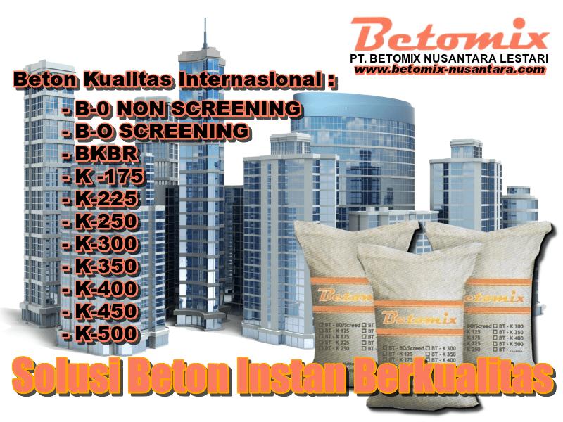 Distributor & Supplier Beton Instan - Produsen Beton Instan Terbaik
