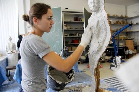 BetonSkulpturen selbst gemacht  BetonCampus