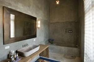 Betonlook Badkamer Maken : Badkamer betonlook mogelijkheden