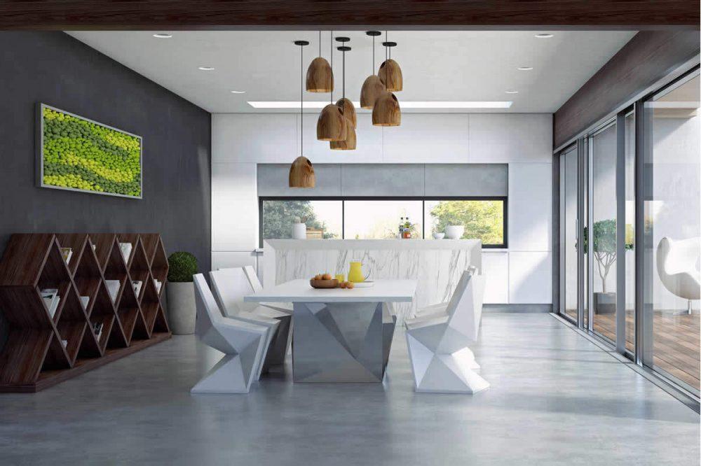 Woonkamer Met Beton : Betonlook vloer: voorbeelden eigenschappen en prijzen