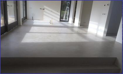 Beton ciré vloer pakket voor tegel ondergrond eur