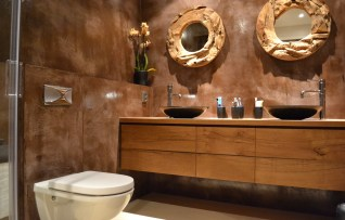 Beton Ciré badkamer - Den Haag