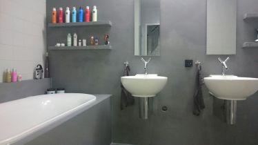 Badkamer Beton Ciré afwerking Delft