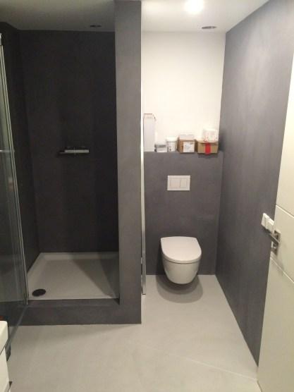 Beton Ciré douche en toilet Delft