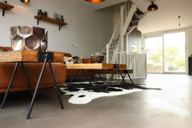 Beton Cire Vloer - gevlinderd