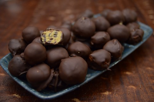 cookie dough truffles in all their glory