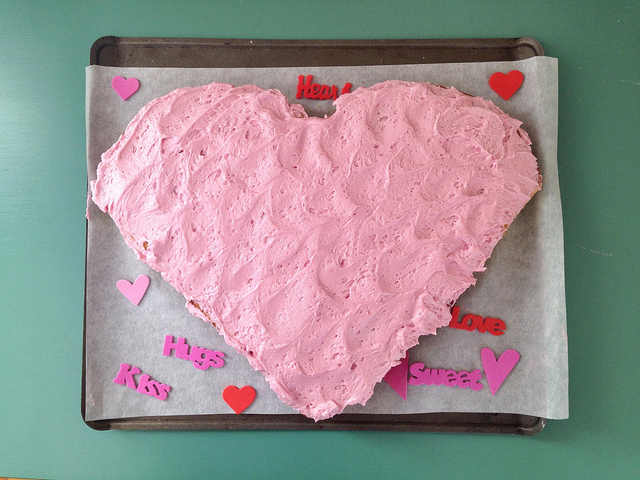 Natural, Dye-Free Pink Icing (with beets!).