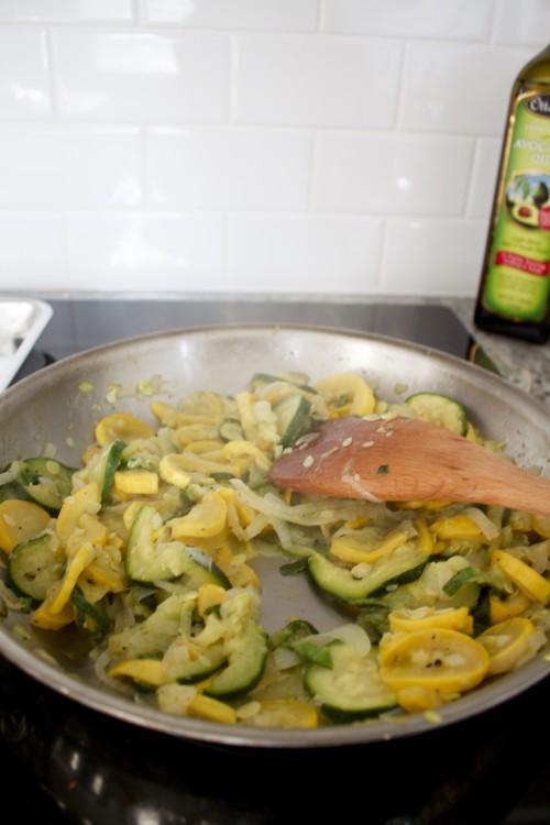 sauteed squash and zucchini