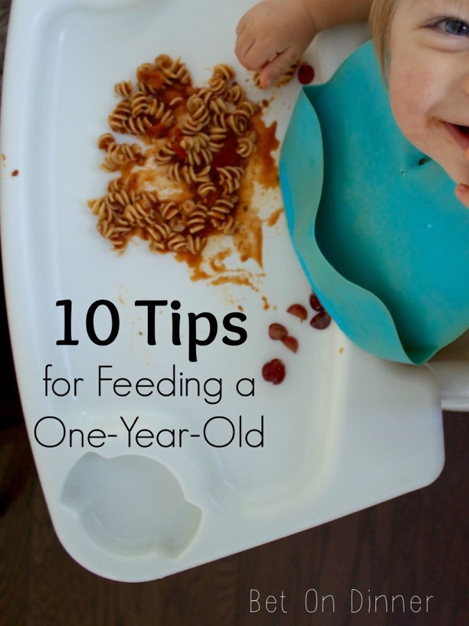 toddler in a high chair grinning at you - she thinks you'll love these tips!