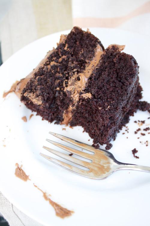 Chocolate Cake (aka The Birthday Cake).