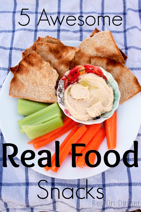 5 Awesome Real Food Snacks.