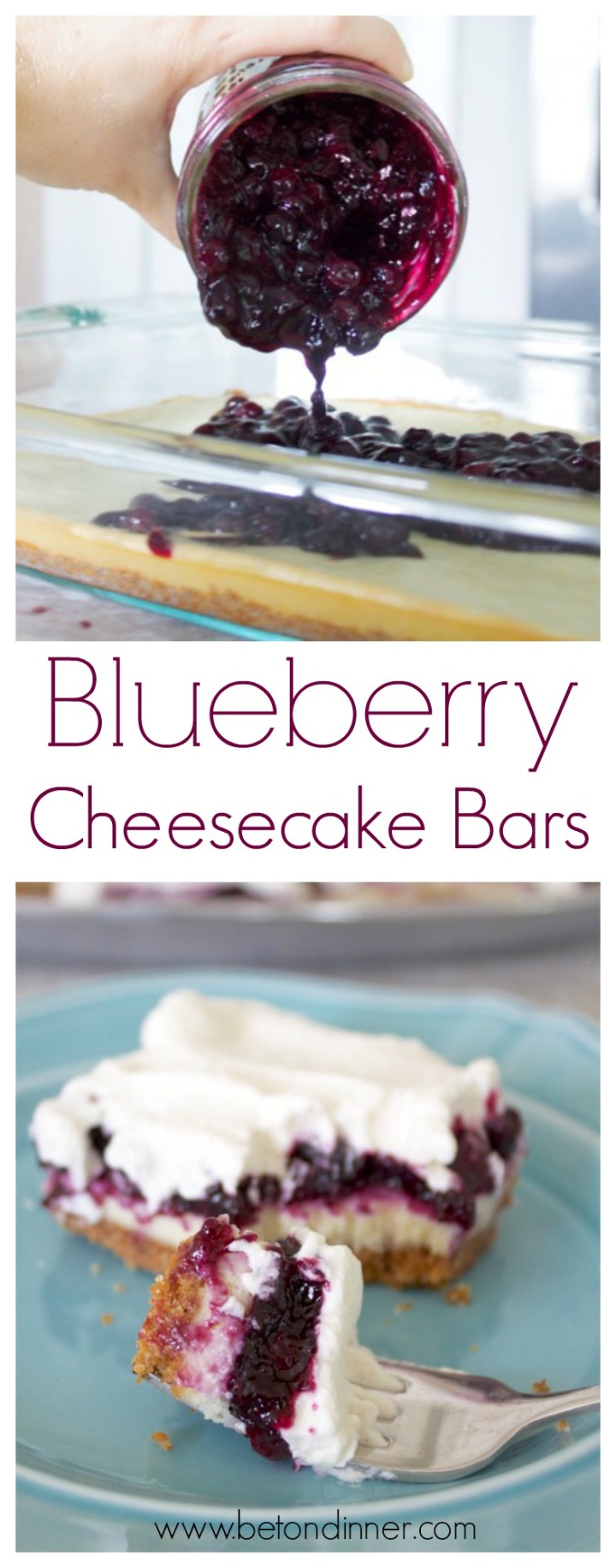 Pinterest Blueberry Cheesecake Bars