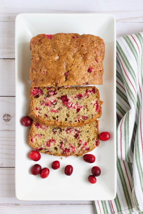Fresh Cranberry Bread.