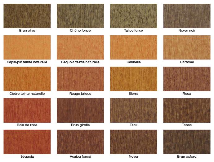 betonel palette des teintures semi
