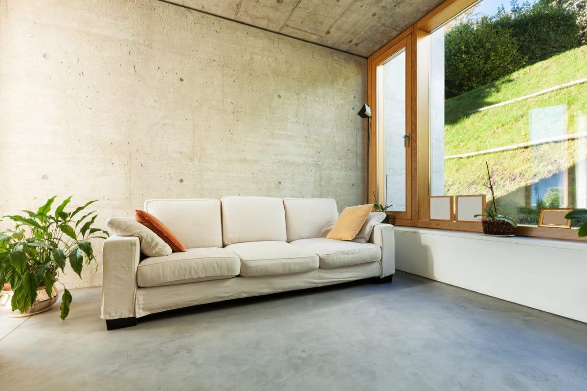 Gevlinderde betonvloer toepassingen in huis prijs