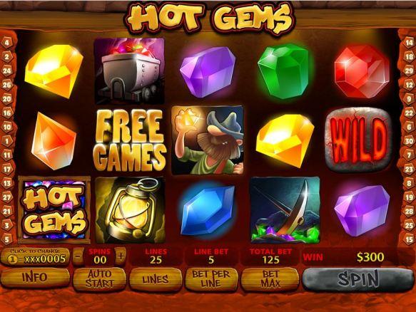 hot gem screen