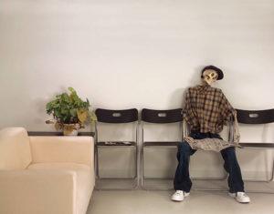 scheletro sala d'attesa