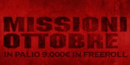 missioni ottobre