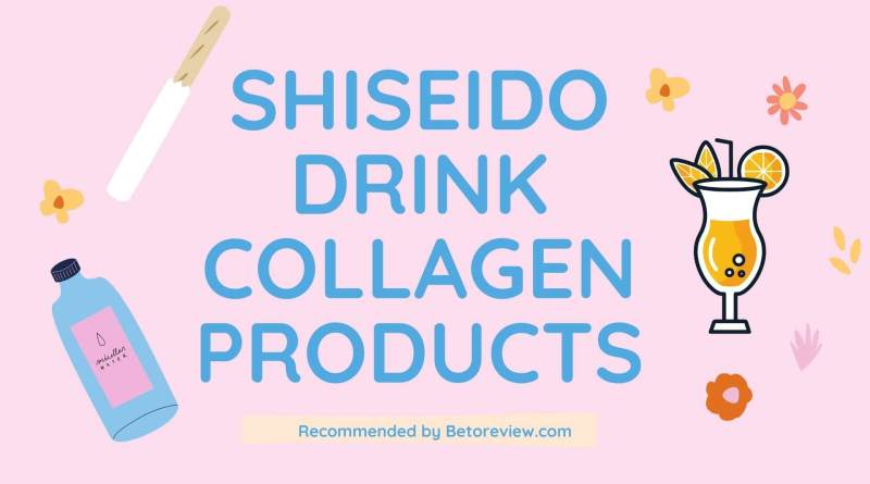 shiseido drink collagen products review