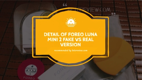 how to check foreo luna mini 2 auth fake