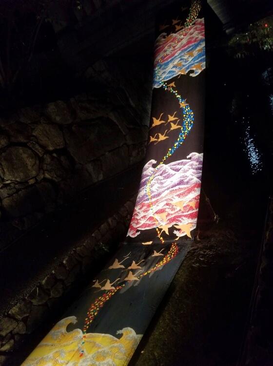 kimono light up tanabata