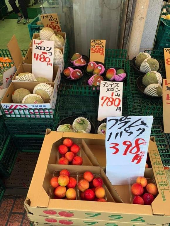 cửa hàng hoa quả rẻ ở nhật