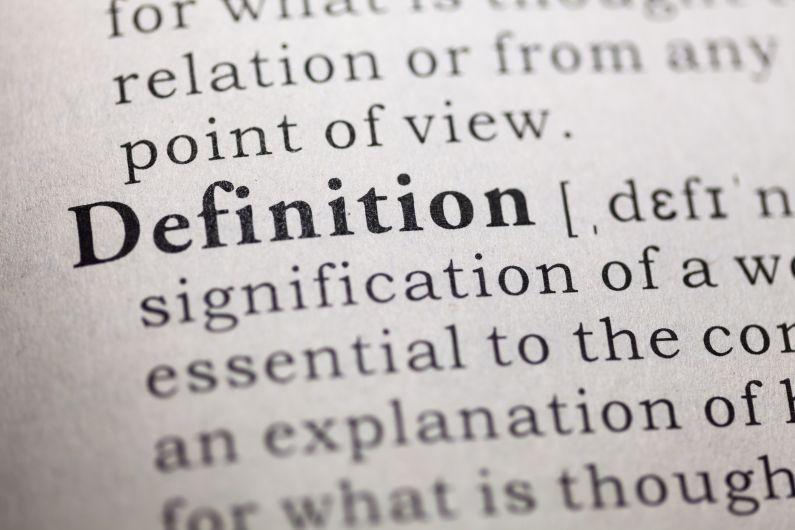 Definition des termes du jargon du traducteur