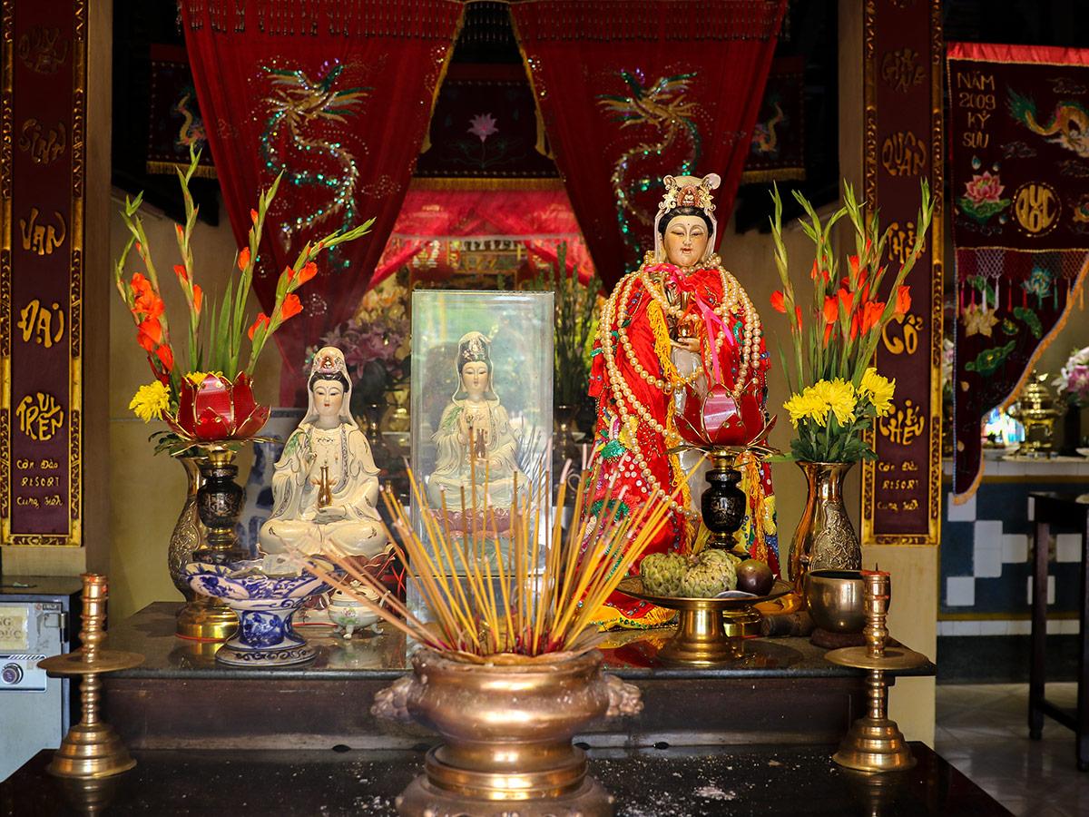 Con Dao Tempelanlage