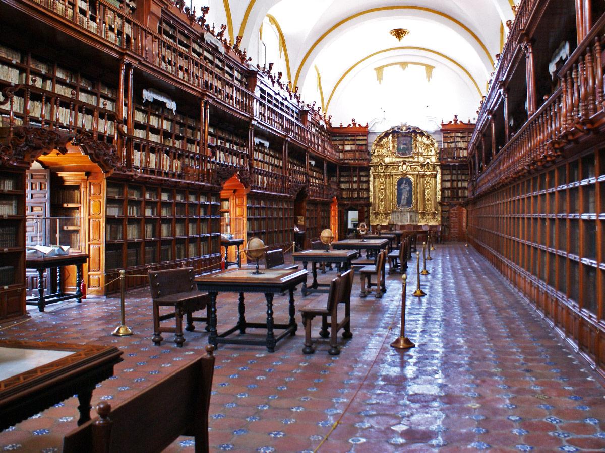 Puebla, Mexiko, Bibliothek