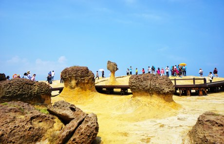 Der Queens Head im Yehliu Geopark