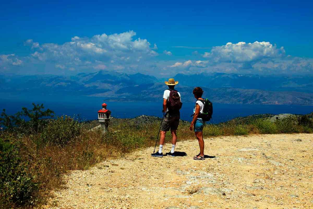 Pantokrator, Corfu Trail