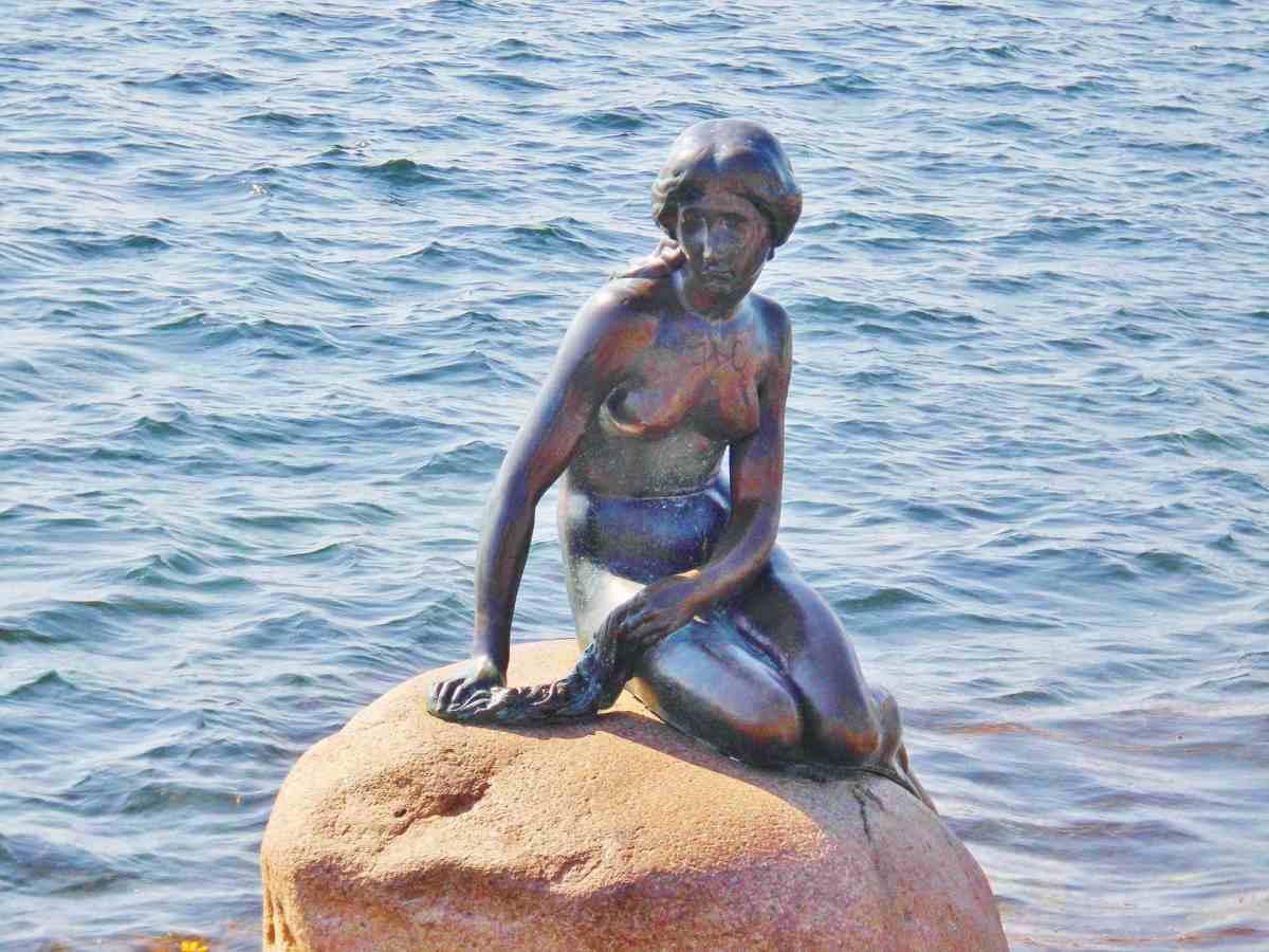 Kopenhagens Wahrzeichen: Die Meerjungfrau