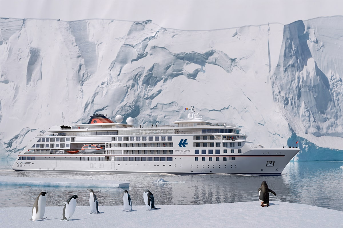 Die höchste Eisklasse für Passagierschiffe ermöglicht Expeditionen in die Arktis und Antarktis