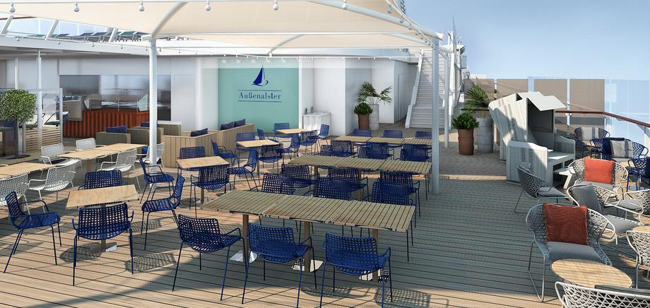 Außenalster Bar & Grill, Mein Schiff 6