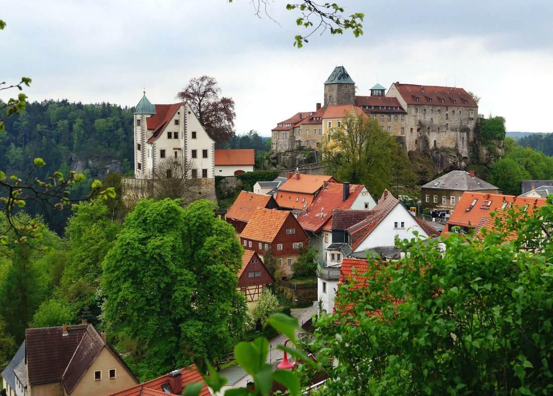 Elbsandsteingebirge Burg Hohnstein