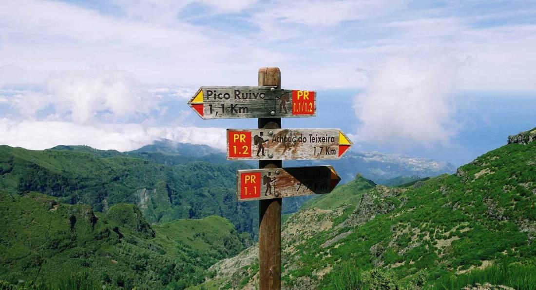 Wanderungen auf Madeiras Berglandschaften