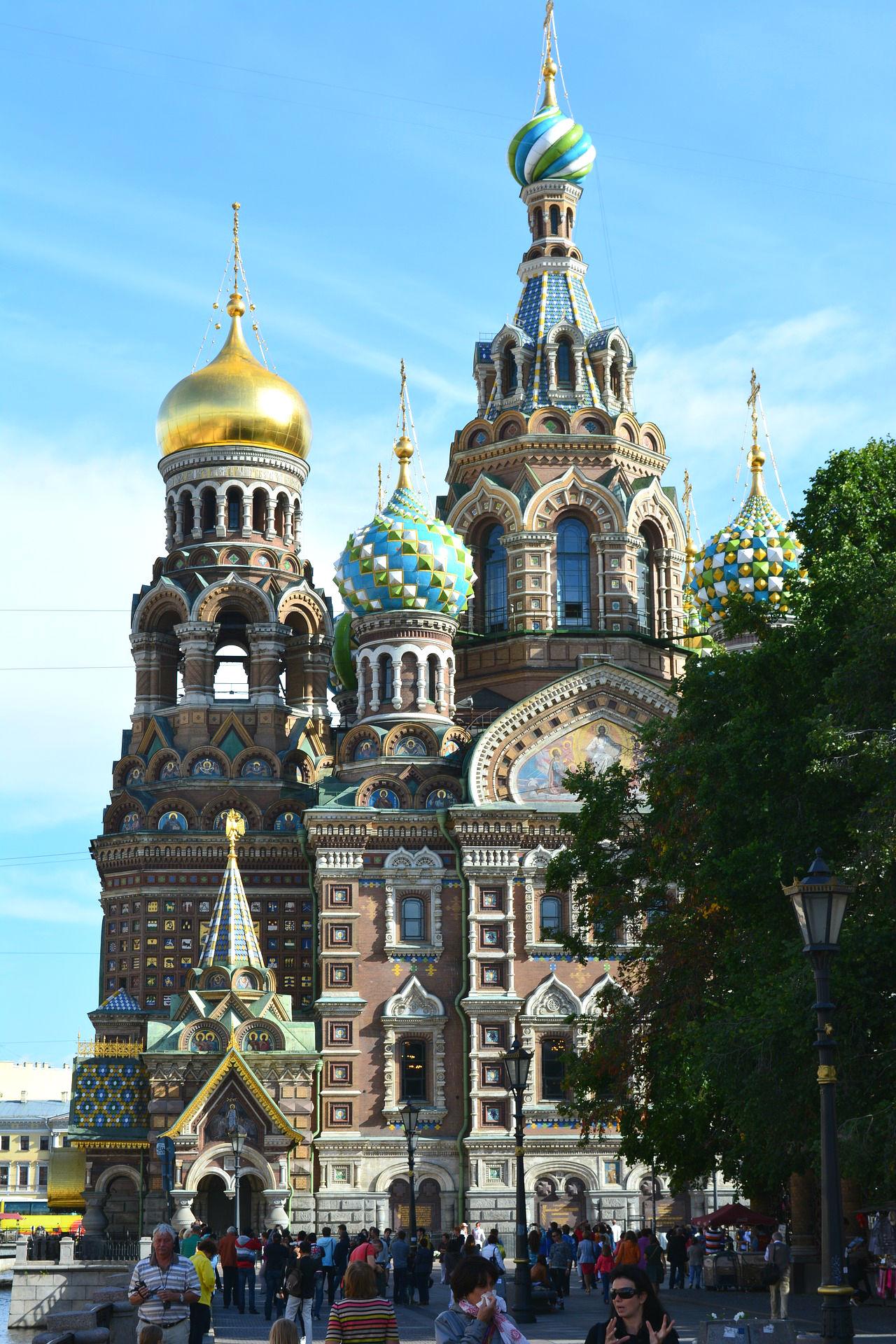 Die Blutkirche in St. Petersburg
