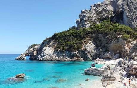 Cala Goloritze Sardinien