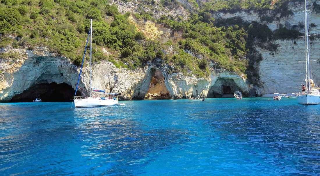 Badespaß auf Korfu